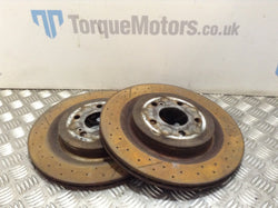 Mercedes A45 AMG W176 Rear brake discs PAIR