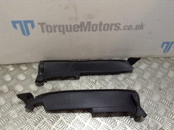 Audi A3 S Line Engine bay Left & Right front wing top trim cover