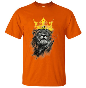 King Of Lion T-Shirt Men - inspirationalShirtclub