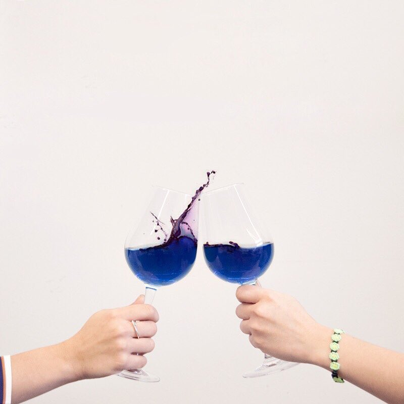 What is Blue Wine? The Latest Wine Craze Hits France
