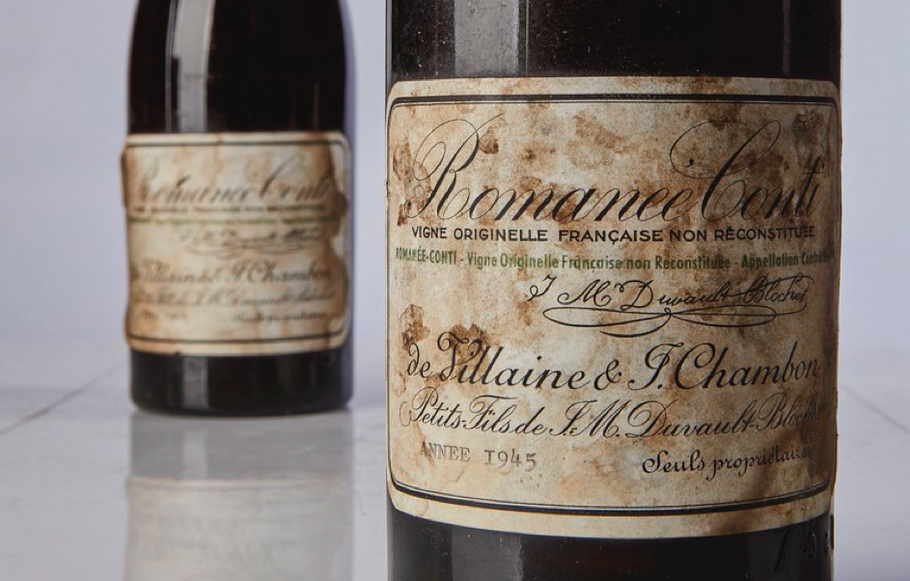 Bottle of Burgundy Becomes Most Expensive Wine in the World