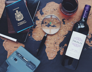 Travelling with wine
