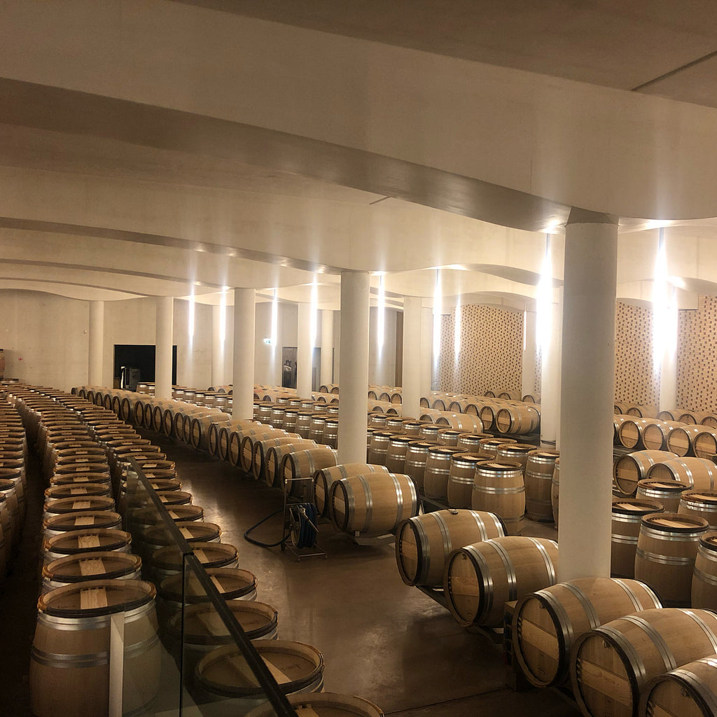Chateau Cheval Blanc Wine Cellar