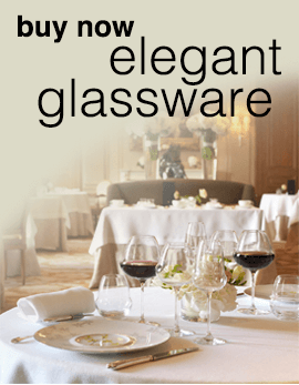 elegant glassware - buy now