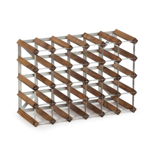 30 Bottle Assembled Traditional Wine Rack - 228mm depth