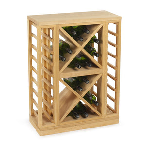 wine storage rack box