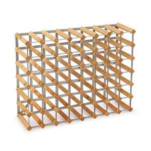 56 Bottle Assembled Traditional Wine Rack - 228mm depth