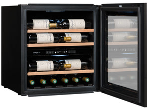 AVI60PREMIUM 2-Zone Built-in Column Wine Cabinet