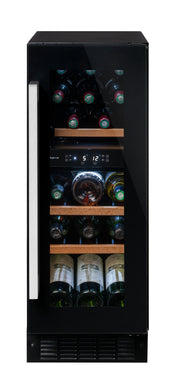 Avintage AVU18CDZA double compartment service wine cabinet. Built in under counter.