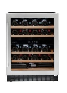 Avintage AVU54SXDZA 2-compartments service wine cabinet. Built in under counter.