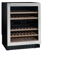 AVU54TXDZA 2-Zone Service Wine Cabinet. Under Counter Series
