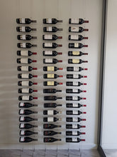 Floating Cable Wine Racking - Cork or Label Facing