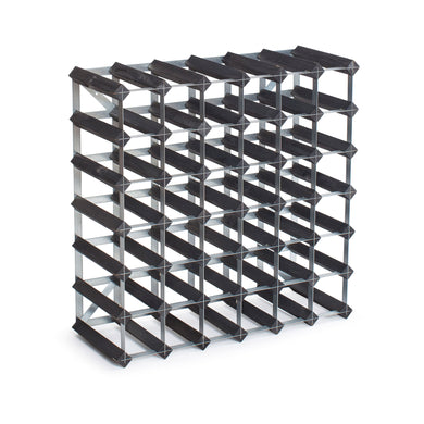 42 Bottle Assembled Traditional Wine Rack - 300mm depth
