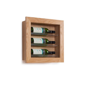Picture Display Wine Rack, 3 Bottle