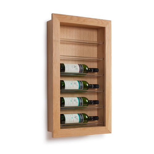 Picture Display Wine Rack, 6 Bottle