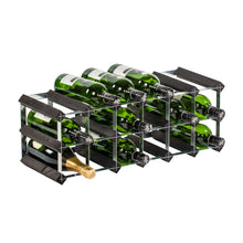 18 Bottle Assembled Traditional Wine Rack - 228mm depth