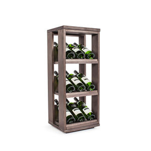 9 Bottle Angled Display Modular Wine Storage Unit