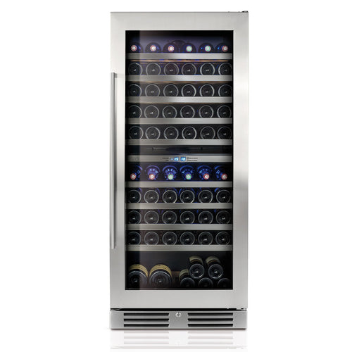Le Chai LB1100, 2-Zone, 110 Bottle Wine Cabinet