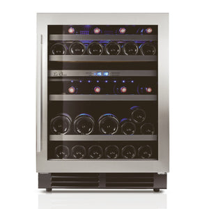 Le Chai LB440 2-Zone 'Built-in under-worktop' Wine Cabinet