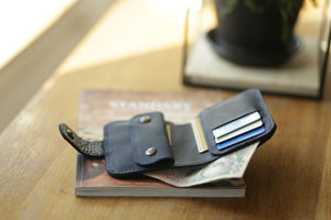 Small Full Grain Leather Wallet - Cantoneri