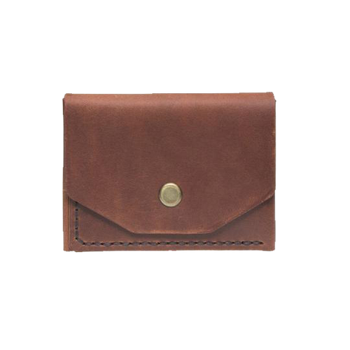 Brandy Minimalistic Leather Cardholder - Cantoneri