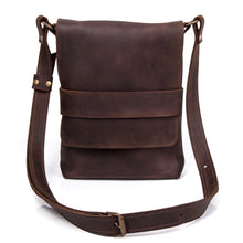 Leather Satchel [Brown] - Cantoneri