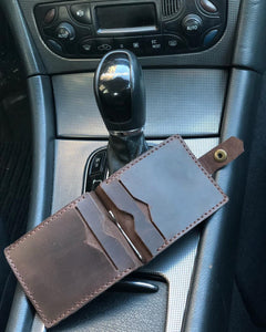 Leather Money Clip - Cantoneri