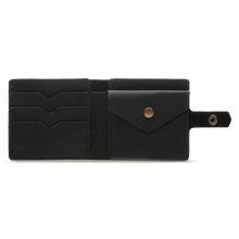 Black Bifold Leather Wallet [USA only] - Cantoneri