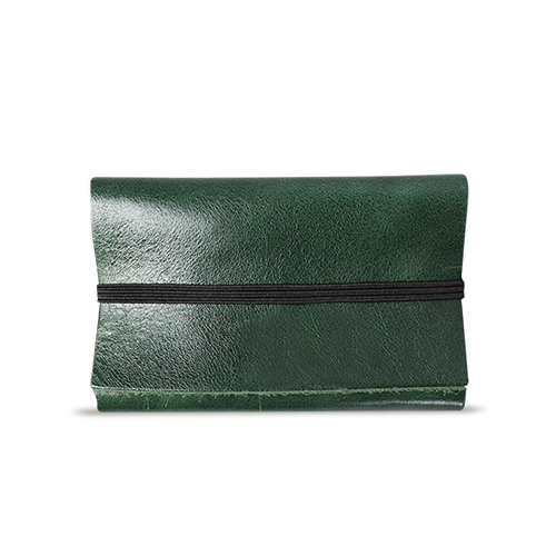 Emerald Leather Cardholder - Cantoneri