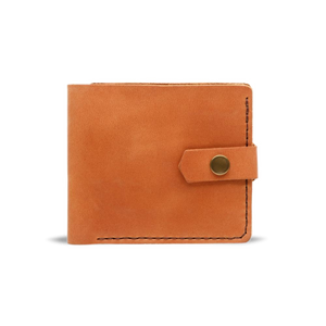 Bifold Leather Wallet [Light Brown] - Cantoneri