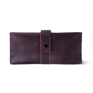 Women's Leather Long Wallet [Marsala] - Cantoneri