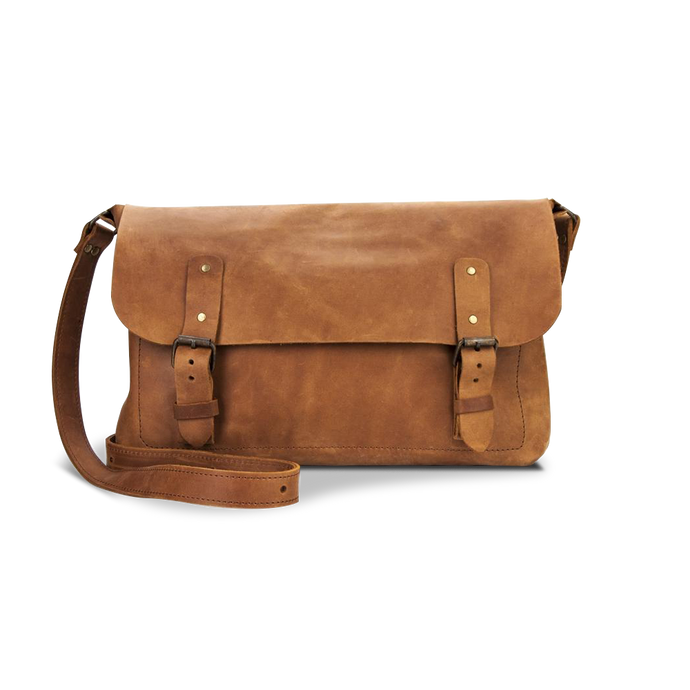 Men's Genuine Leather Bag  [Cognac] - Cantoneri