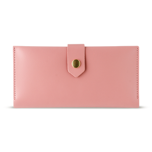 Women's Pink Bifold Leather Wallet [USA only] - Cantoneri