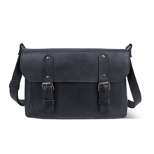 Porthole Leather Bag [Black] - Cantoneri
