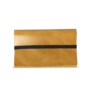 Yellow Leather Cardholder - Cantoneri