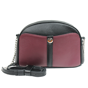 Marsala Leather Cross Body Bag - Cantoneri