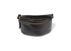 Women's Leather Hip Bag - Cantoneri