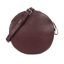 Marsala Leather Circle Bag - Cantoneri