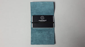 Green Leather Cardholder - Cantoneri