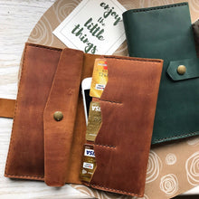 Women's Ginger Bifold Leather Wallet [USA only] - Cantoneri