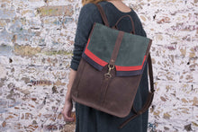 Handmade Leather Backpack - Brown |  Women's Backpack | Backpack | Brown Backpack | Genuine Leather Backpack | Men's Leather Backpack - Cantoneri