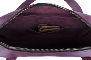 Handmade Leather Bag - Purple | Leather Shoulder Bag | Womens Handbag | Leather Bag | Shoulder Bags | Handbag | Genuine Leather Bag - Cantoneri