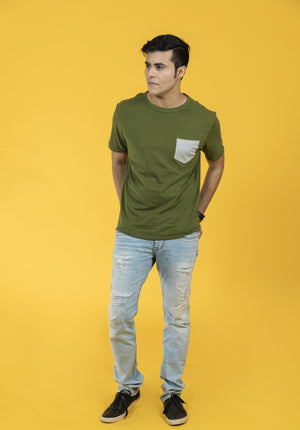 Feltin Clothing - Green Olive - T-Shirt