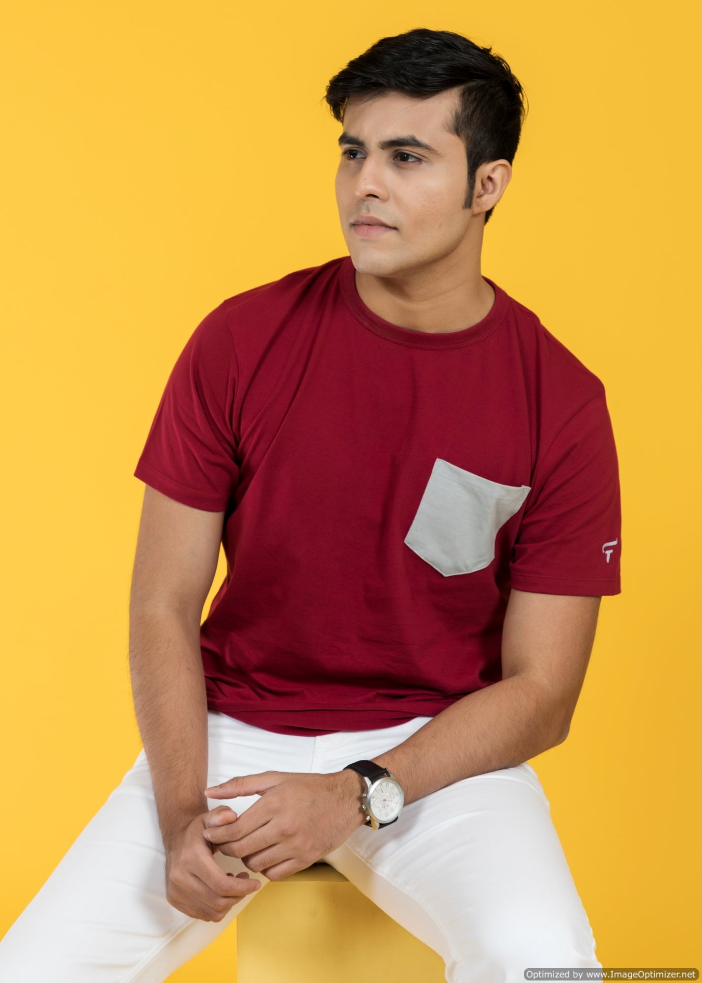Feltin Clothing - Bordeaux Red - T-Shirt