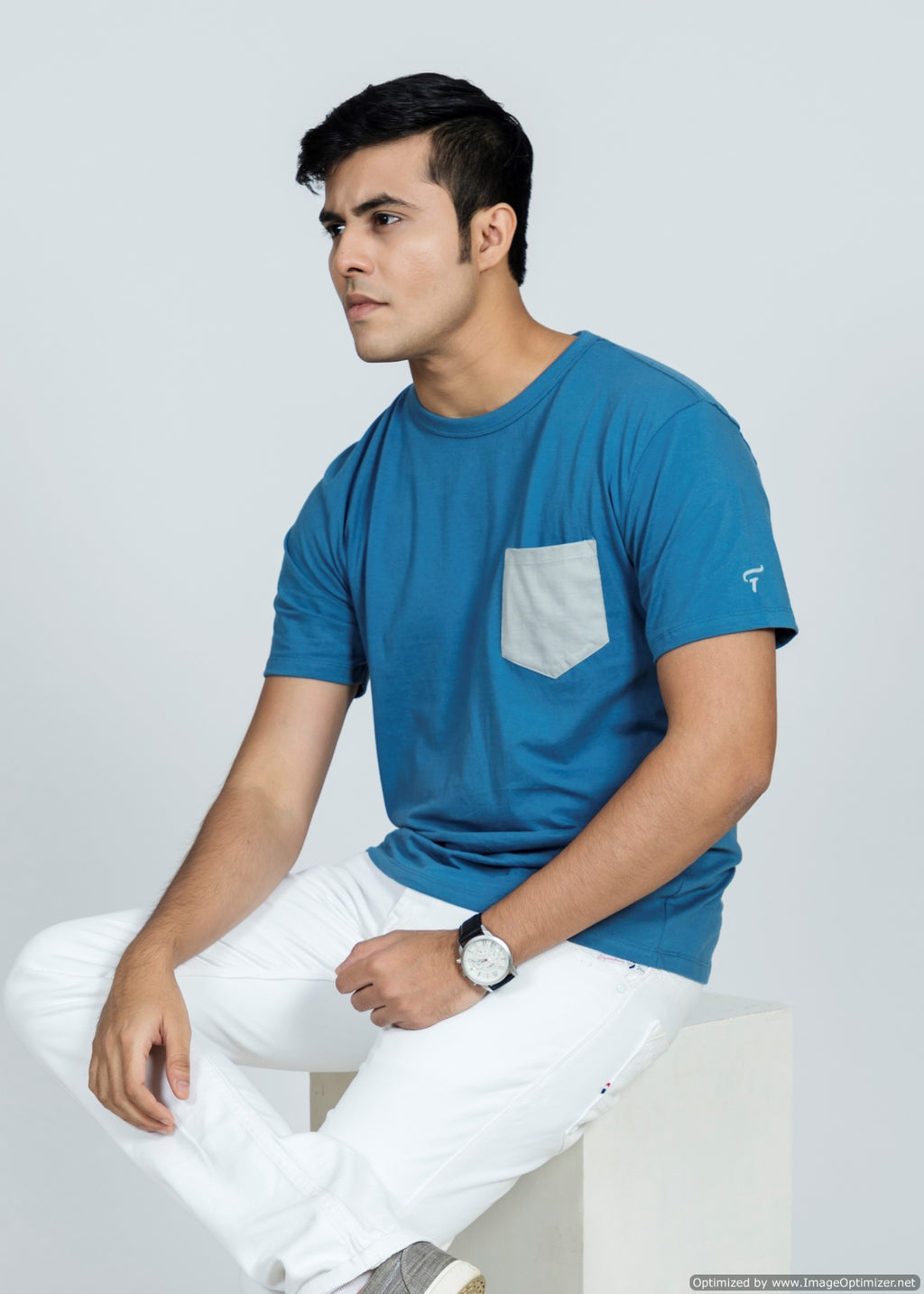 Feltin Clothing - Posh Blue - T-Shirt