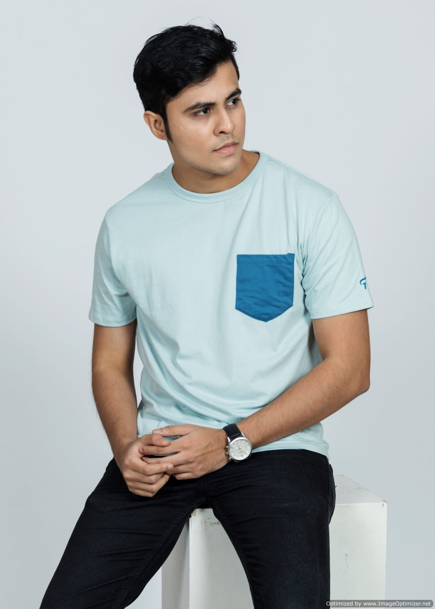 Feltin Clothing - Cadet Blue - T-Shirt