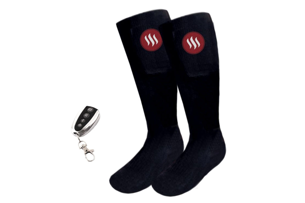 Heated Ski Socks with Remote Control