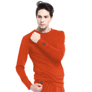 Heated sweatshirt / Skin Red, Black, Grey