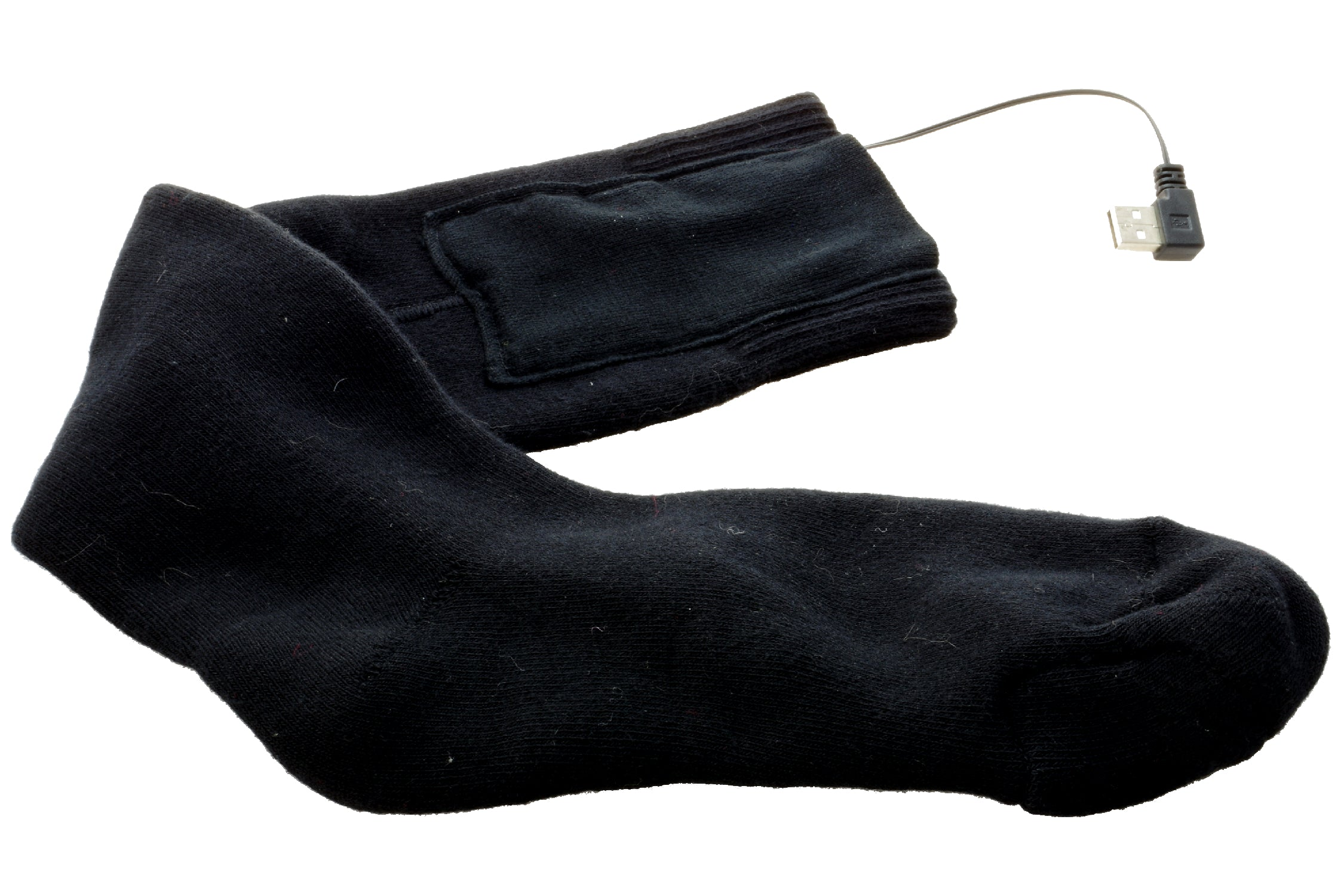 Heated Ski Socks with Remote Control & Batteries