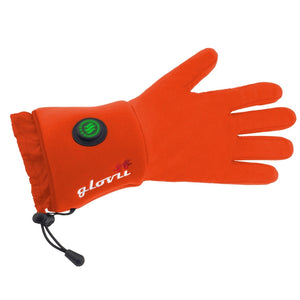 Heated universal gloves RED